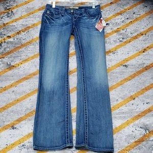 Big star Jean's sweet boot ultra low rise